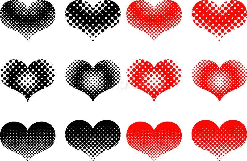 Download Heart Set , Valentine Heart, Stock Vector - Image: 83712251