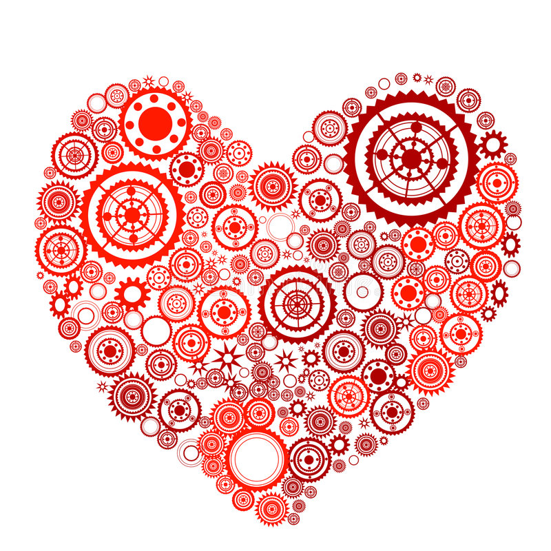 Download Heart shape stock vector. Image of love, marriage, passion - 9263373