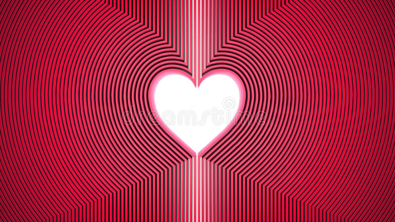Heart shape vector illustration