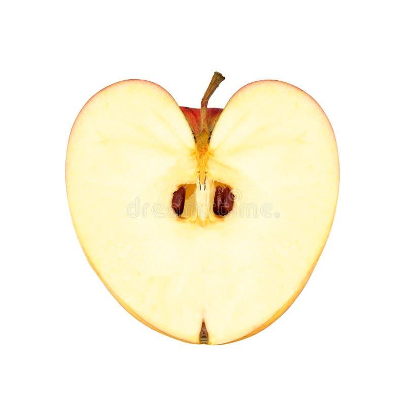 Heart shape apple