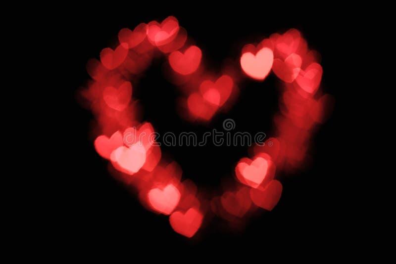 Download Heart shape bokeh stock photo. Image of romantic, idea - 22870020
