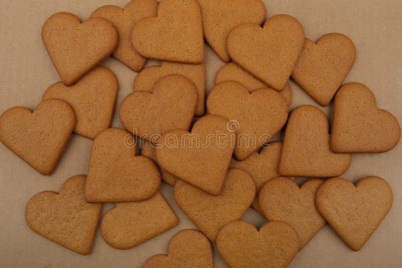 Download Heart shape cookies. stock image. Image of cake, paper - 83713147