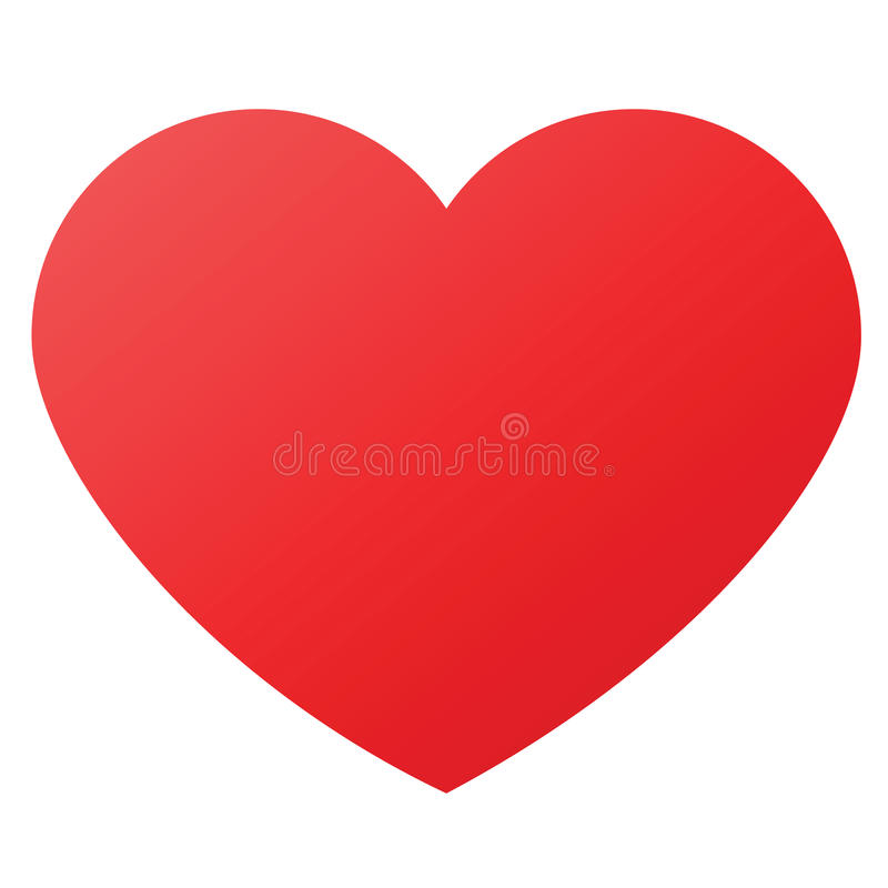 Heart Shape For Love Symbols Stock Vector Illustration Of Marry