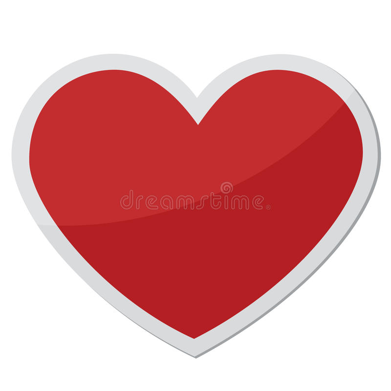 Heart Shape For Love Symbols Stock Illustration Illustration Of