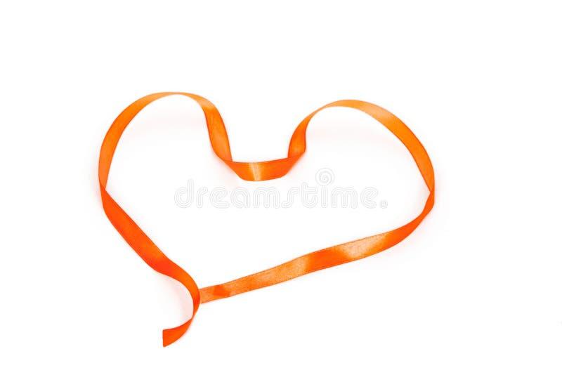 Download Heart Shape Of Orange Braid Stock Photos - Image: 36748243