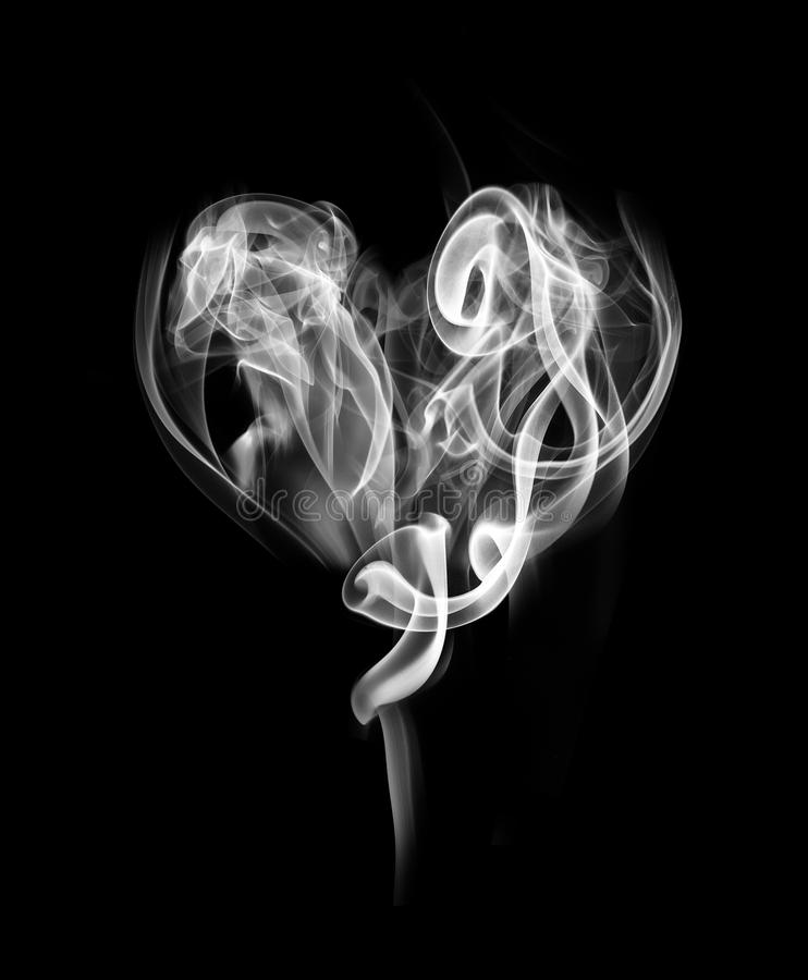 how to make smoke hearts