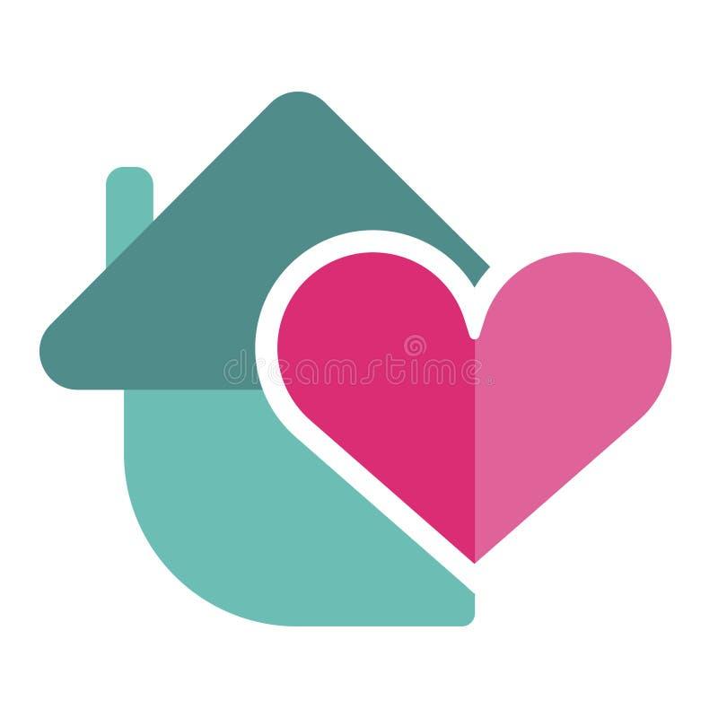 Heart shape vector icon simple red valentine symbol love sign romantic vector illustration stock illustration