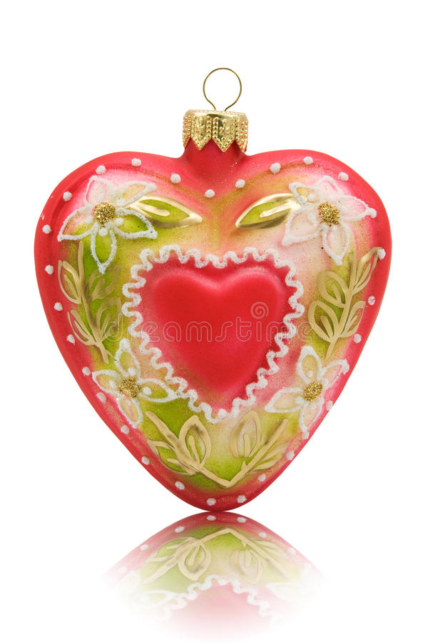 Download Heart shaped bauble stock image. Image of symbol, beautiful - 17695659