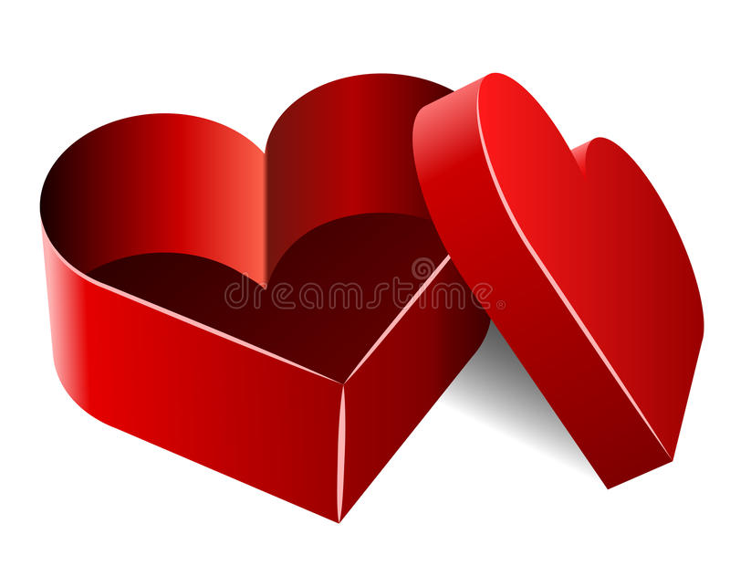 Download Heart shaped box stock vector. Image of heart, nice, element - 17767768