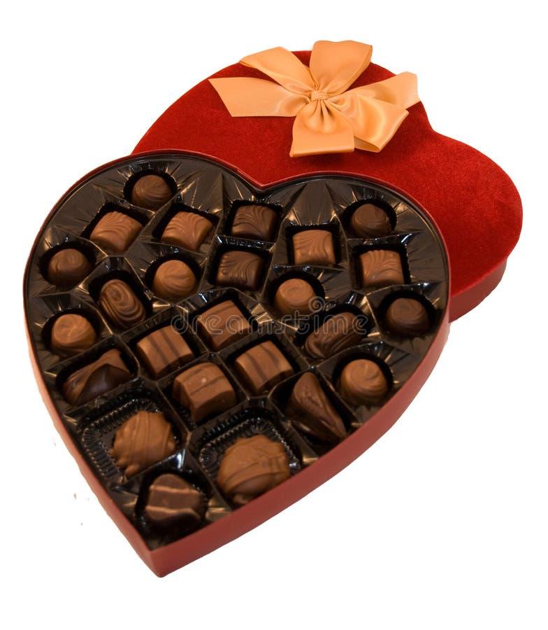 Free Heart Shaped Box Of Chocolate Royalty Free Stock Photo - 12198785