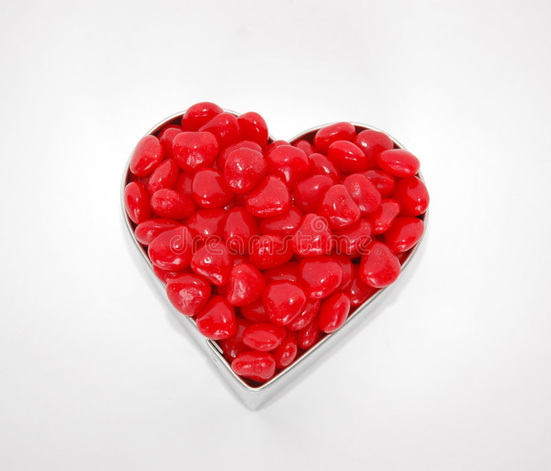 Download Heart Shaped Candies stock image. Image of isolated, candies - 63919