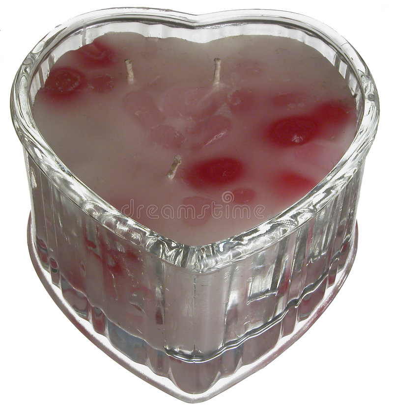 Download Heart Shaped Candle Stock Photos - Image: 1708103