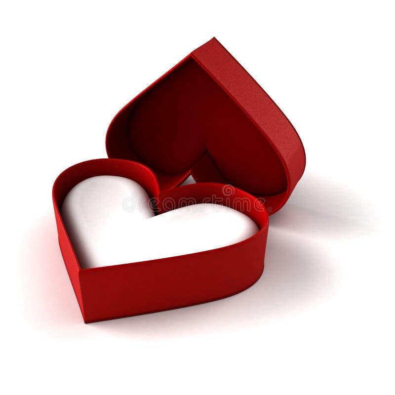 Download Heart Shaped Case stock illustration. Illustration of jewellery - 27503534