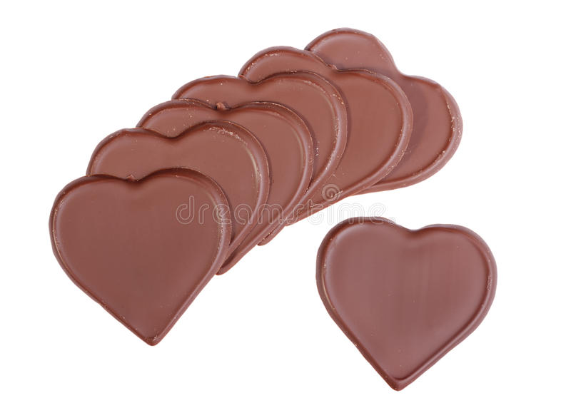Download Heart Shaped Chocolate Royalty Free Stock Images - Image: 22972739