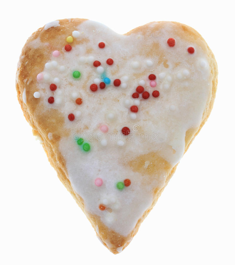 Download Heart-Shaped Cookie Stock Photos - Image: 29291253