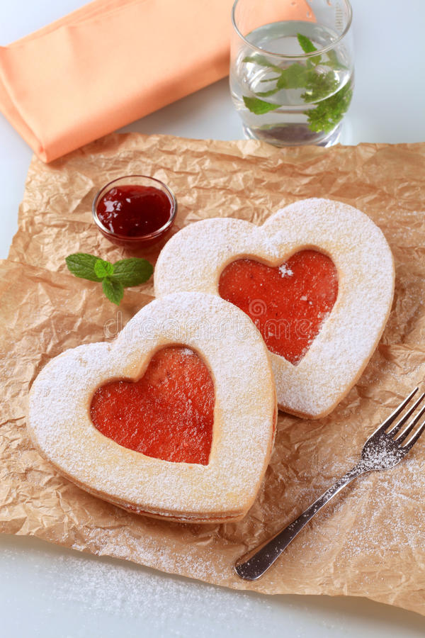 Free Heart Shaped Cookies Stock Photography - 11882632