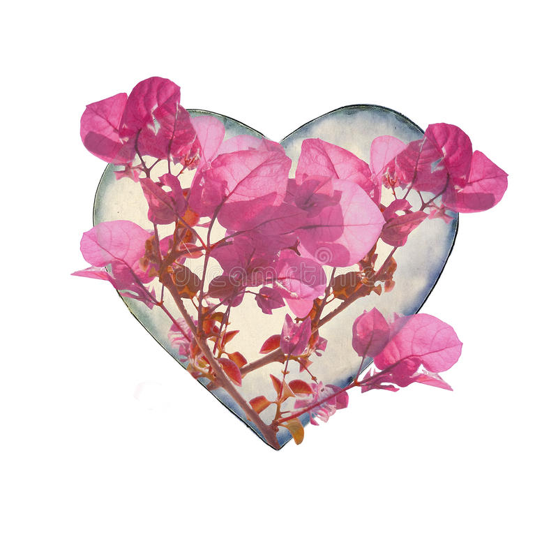 Heart shaped with flowers stock illustration illustration of pink download heart shaped with flowers stock illustration illustration of pink 47285509 mightylinksfo