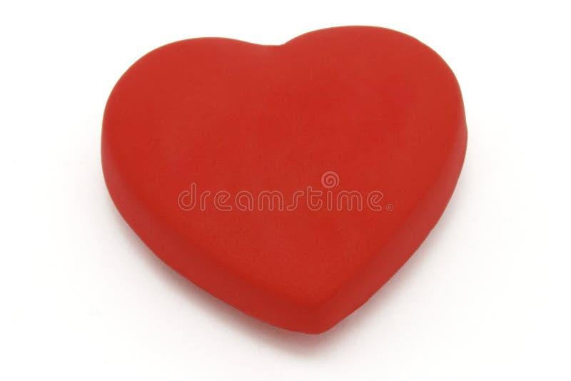 Heart shaped fridge magnet