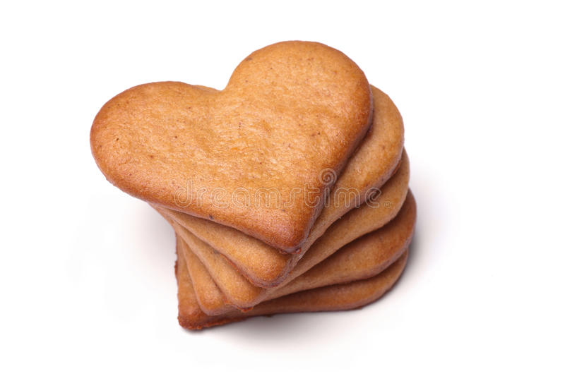 Download Heart-shaped gingerbread stock photo. Image of baking - 28698882