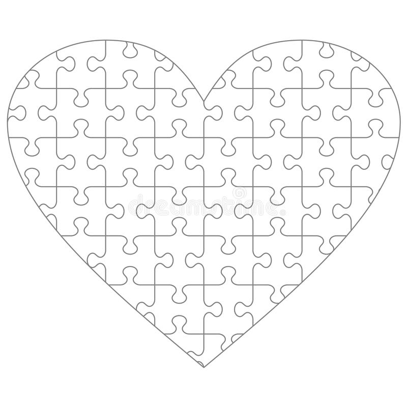 Puzzle Template 10 Pieces from thumbs.dreamstime.com