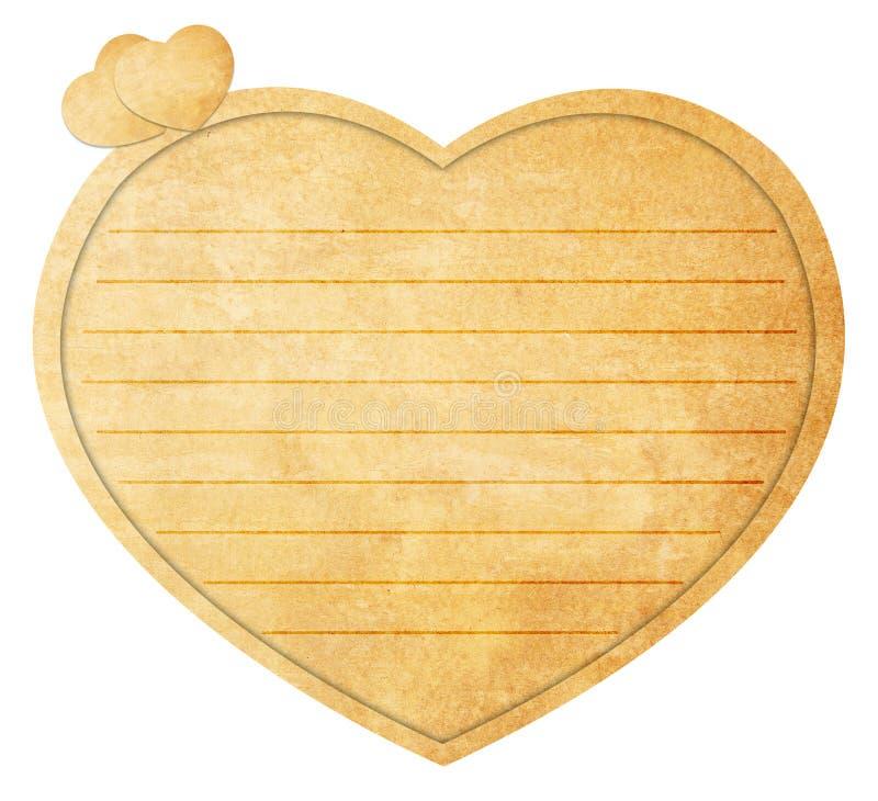 Download Heart Shaped Love Note stock illustration. Illustration of decoration - 23303961