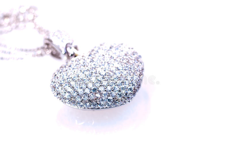 Download Heart Shaped Pendant Close Up Stock Image - Image: 21912403