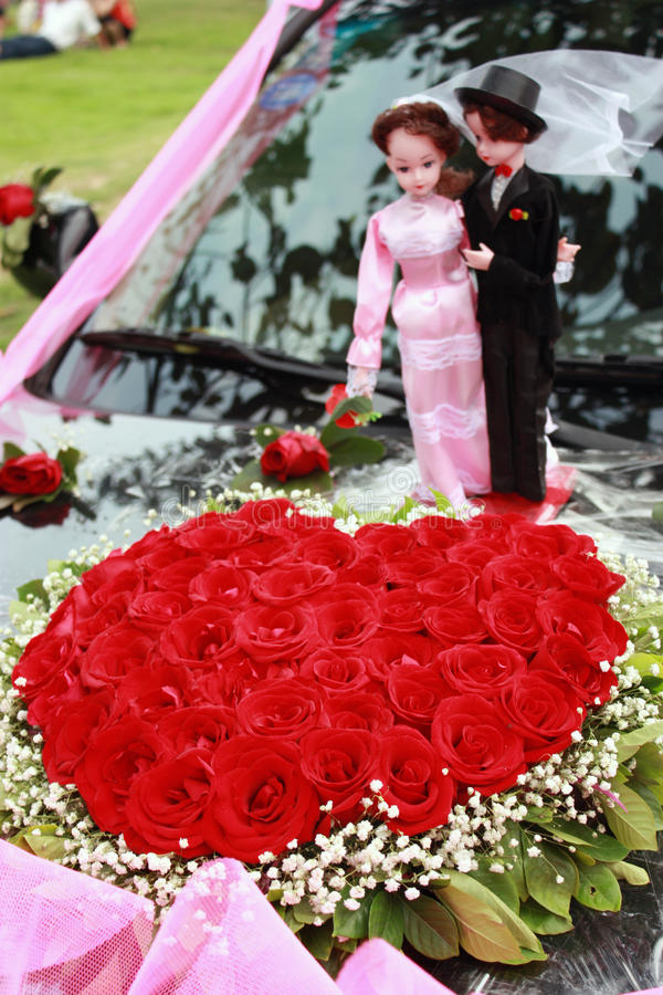 Download Heart-shaped roses stock photo. Image of dream, forever - 11106872