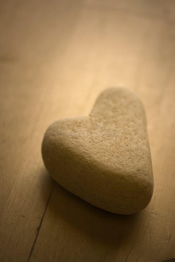 Heart shaped Stone royalty free stock photo