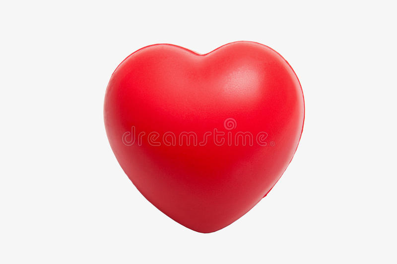 Heart-shaped stress toy royalty free stock photography