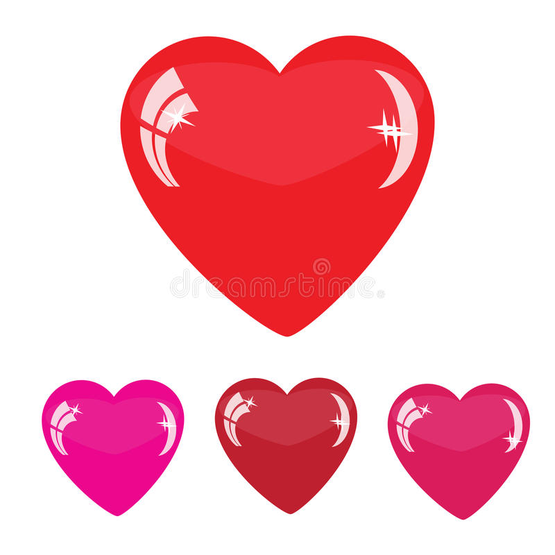 Download Heart shapes stock illustration. Illustration of holidays - 34760406