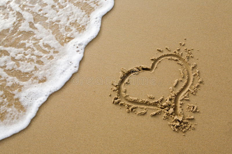 Download Heart sign stock image. Image of waves, summer, outdoor - 17521787