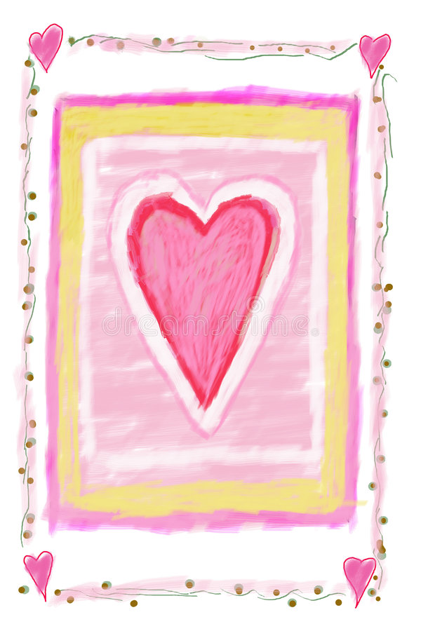 Heart sign royalty free illustration