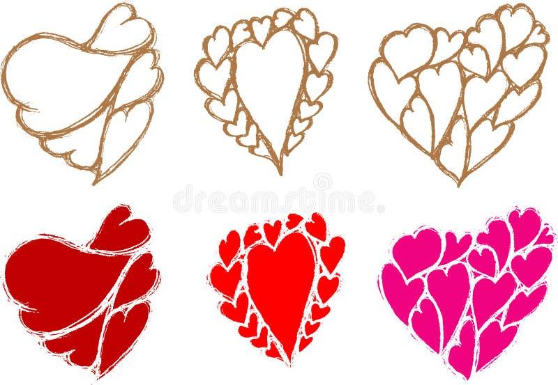 Download Heart Sketch stock illustration. Illustration of symbol - 28763295
