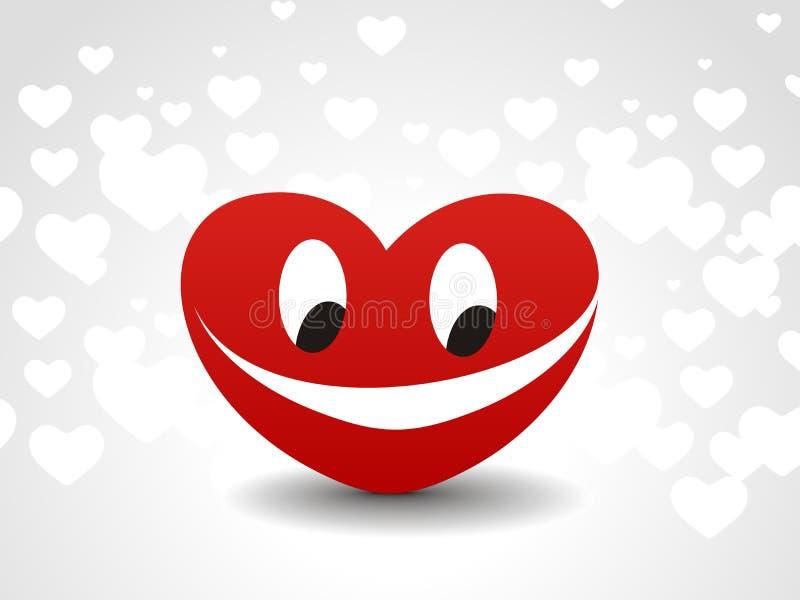 Heart Smile Icon Stock Photography