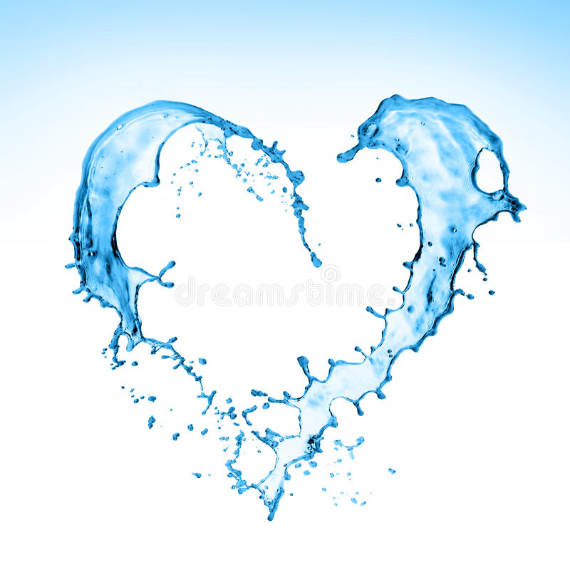 Free Heart Splash Stock Images - 22413754