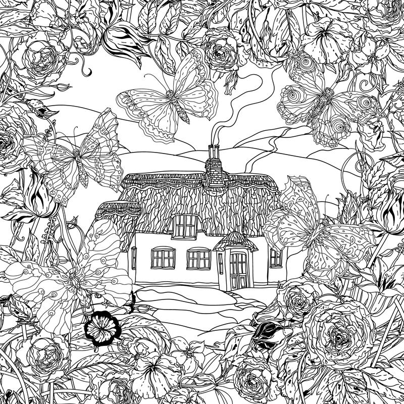free coloring pages flowers adults