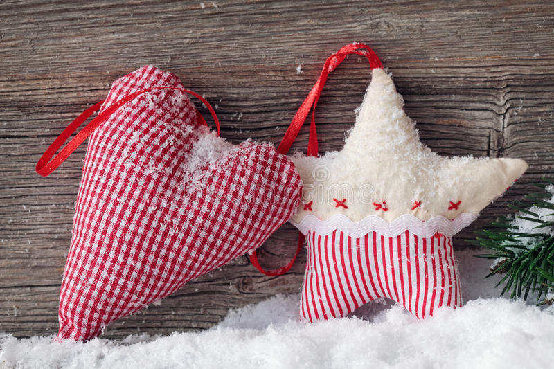 Download Heart and star in snow stock image. Image of snow, star - 22340335