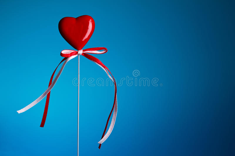 Download Heart on stick stock image. Image of love, date, romance - 23136413