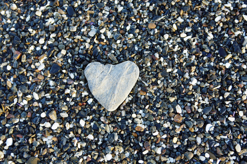 Heart of Stone stock images