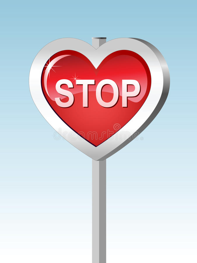 Free Heart-stop Royalty Free Stock Image - 17905856