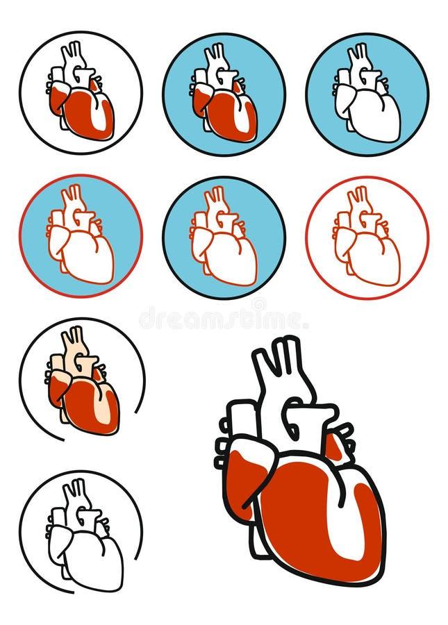 Download Heart symbol stock illustration. Illustration of clinic - 23337848