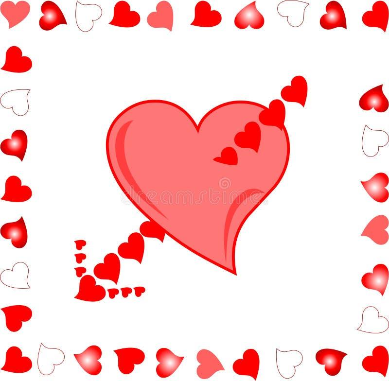 Célèbre Heart Target Of Amour Arrow Background Love Illust Stock Vector  FH68
