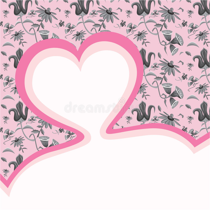 Download Heart Template Header Royalty Free Stock Photography - Image: 8945757
