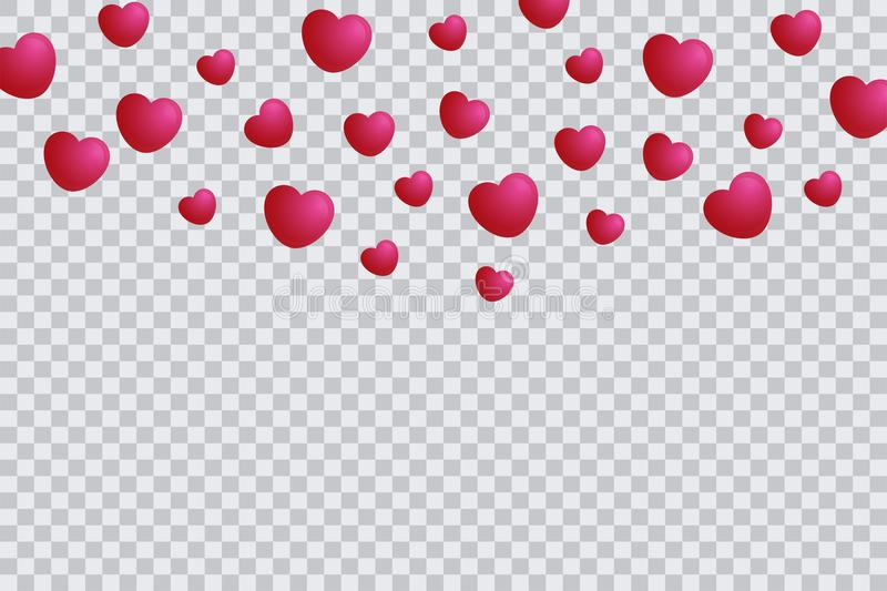 Heart Template Isolated In Transparent Background Valentine