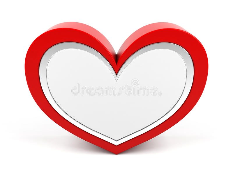 Heart For Text Royalty Free Stock Image