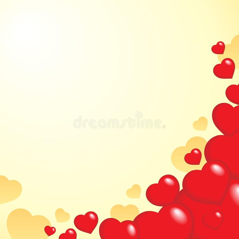 Download Heart theme background 1 stock vector. Image of hearts - 22908682