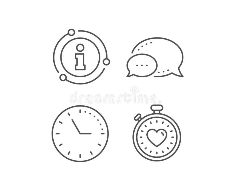 Seo Timer, Heart And Certificate Icons Set  Dirty Water Sign