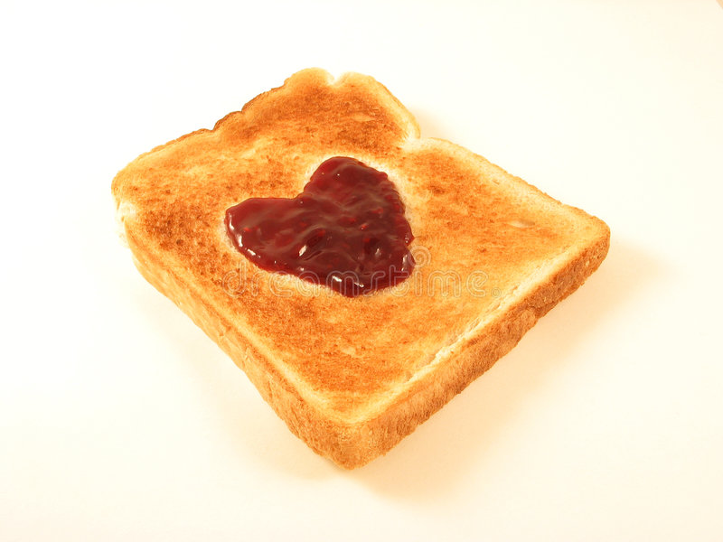 Download Heart Toast stock photo. Image of darling, lover, courter - 136254