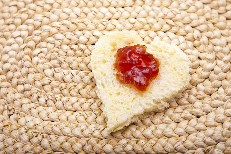 Download Heart Toast stock image. Image of heart, love, shape - 26997173