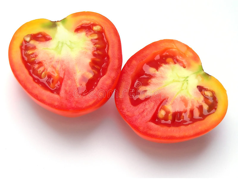Heart of Tomato royalty free stock photo